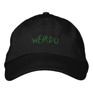 WEIRDO EMBROIDERED HAT