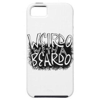 Weirdo with a Beardo Tough iPhone 5 Case