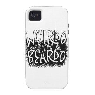 Weirdo with a Beardo iPhone 4 Case