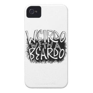 Weirdo with a Beardo iPhone 4 Case-Mate Case