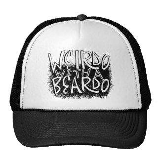 Weirdo with a Beardo Trucker Hats