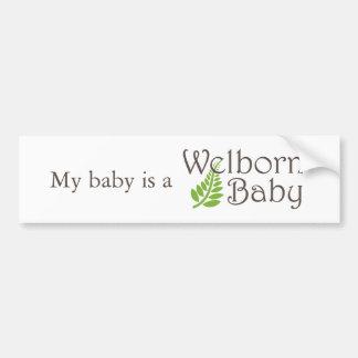 Welborn Baby Bumper Sticker