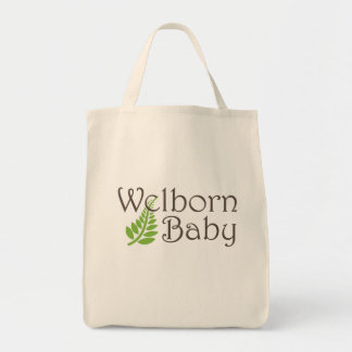 Welborn Baby Grocery Tote Grocery Tote Bag