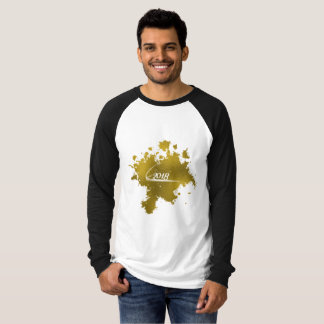 Welcome 2018 Gold Foil Effect T-Shirt