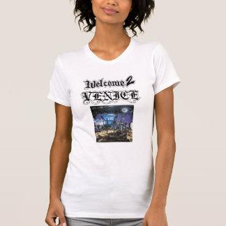 Welcome 2 Venice-Girls Sheer T-Shirt