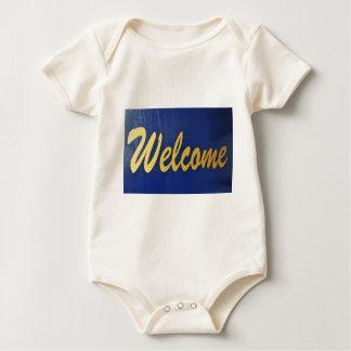 Welcome Baby Bodysuit