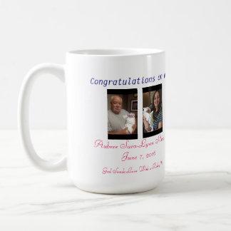 Welcome Baby Custom Mug