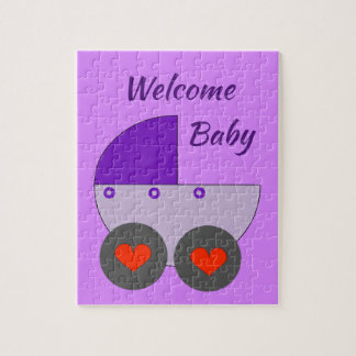 welcome baby jigsaw puzzle