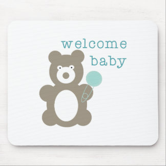 Welcome Baby Mousepads