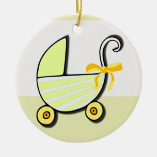 Welcome Baby or Baby Shower Christmas Ornament