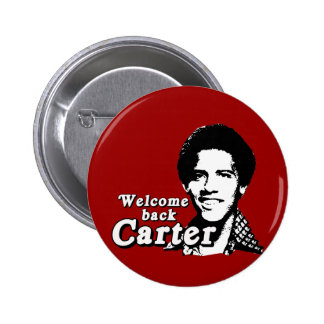 Welcome back Carter 6 Cm Round Badge