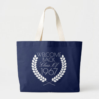 Welcome Back Class Of Large Tote Bag