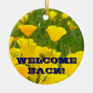 WELCOME BACK! Ornament STUDENTS PARENTS
