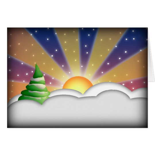 Welcome Back Sun, greeting  card