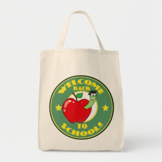 Welcome Back to School Canvas Bags