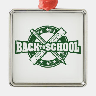 Welcome Back To School Christmas Ornament