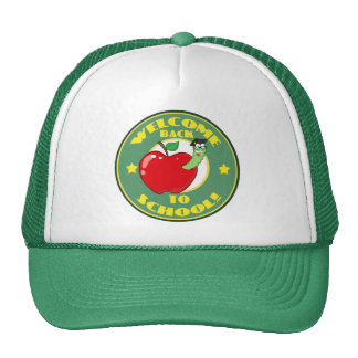 Welcome Back to School Hats