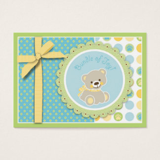 Welcome Bear Gift Tag