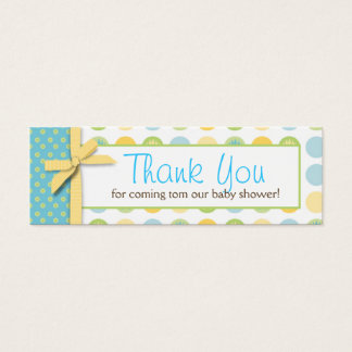 Welcome Bear TY Skinny Gift Tag