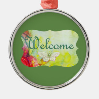 Welcome! Christmas Ornament
