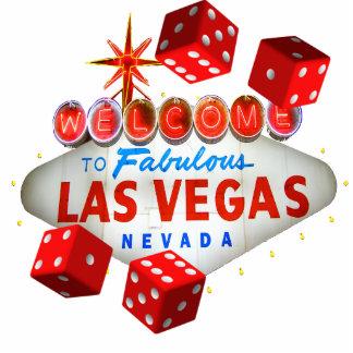 Welcome Dice Las Vegas Photo Sculpture