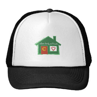 Welcome Family And Friends Mesh Hats