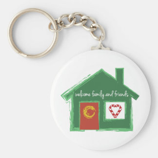 Welcome Family And Friends Keychains