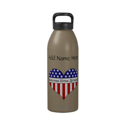 Welcome Home Airman! Reusable Water Bottle