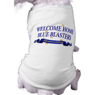Welcome Home Blue Blasters Sleeveless Dog Shirt