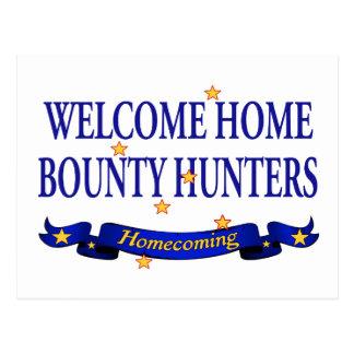 Welcome Home Bounty Hunters Postcard
