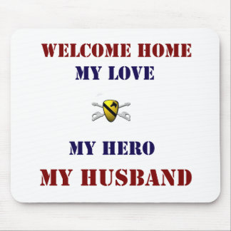 Welcome Home Cav Mouse Pad