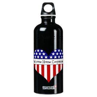 Welcome Home Corpsman! (Customizable Name) SIGG Traveller 0.6L Water Bottle