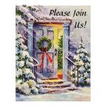 Welcome Home Custom Christmas Invitations
