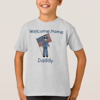 Welcome Home Daddy Air Force Brat (Son) T-Shirt