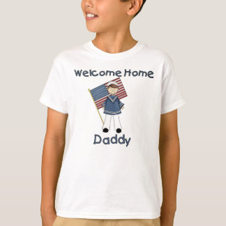 Welcome Home Daddy Navy Brat (Son) T-Shirt