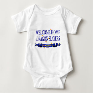 Welcome Home Dragon Slayers Baby Bodysuit