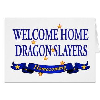 Welcome Home Dragon Slayers Greeting Card