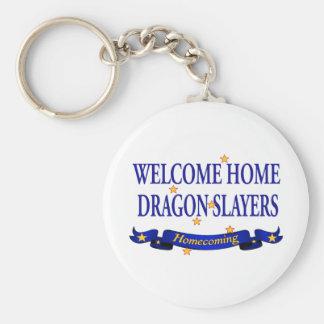 Welcome Home Dragon Slayers Key Chains