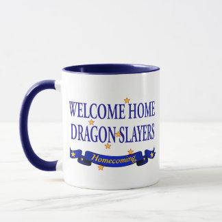 Welcome Home Dragon Slayers Mug
