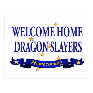 Welcome Home Dragon Slayers Post Card