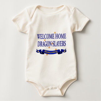 Welcome Home Dragon Slayers Baby Bodysuit