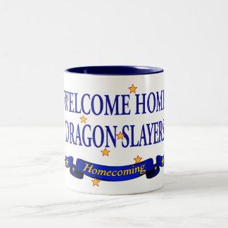 Welcome Home Dragon Slayers Two-Tone Mug