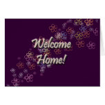 Welcome Home Flowers Greeting Cards