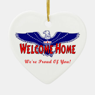 Welcome Home From The Military Christmas Ornament