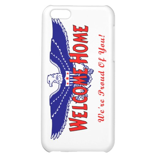 Welcome Home From The Military iPhone 5C Cover