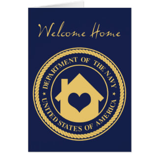 welcome home from the navy cards