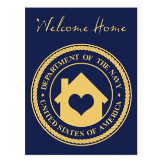 welcome home from the navy post cards