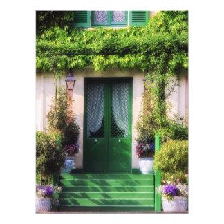 Welcome Home Garden Facade Photographic Print