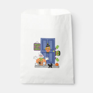 Welcome Home Halloween Favor Bags
