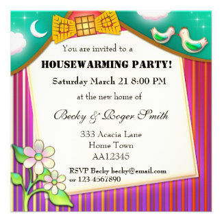 Welcome Home Housewarming Party Invitation